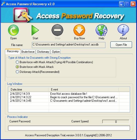 Access Password Hacker - Hack Access Password