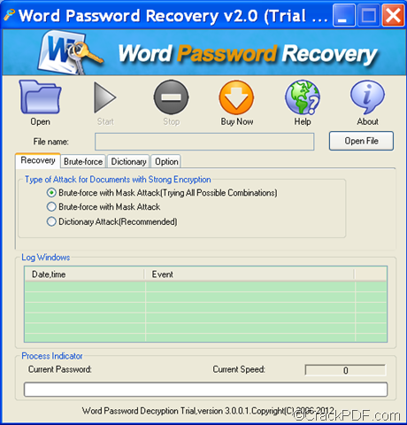 How to decrypt password protected word documents pdf for Word documents protected