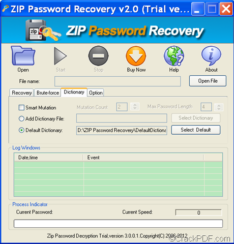 zip password recovery full crack
