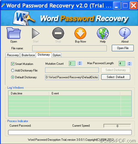 how to crack ms word document password