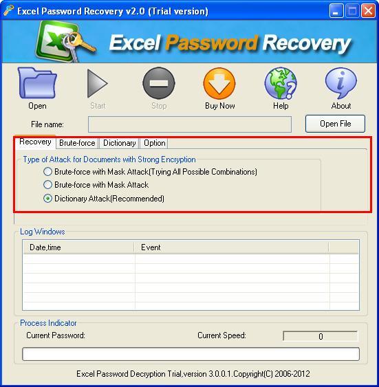 CrackPDF XLS Password Cracker