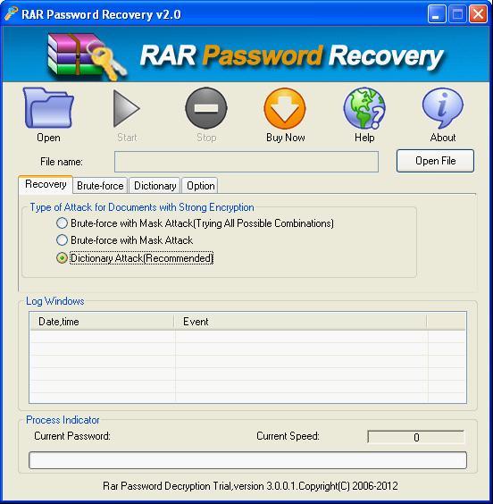 RAR Password Recovery (RAR/WinRAR archives)