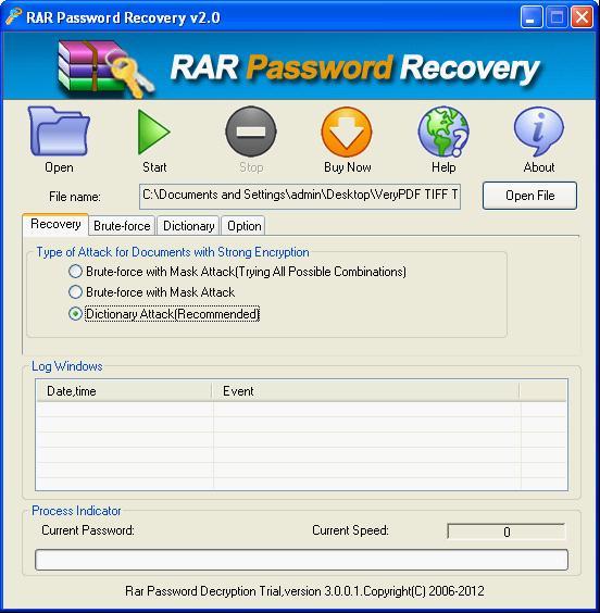 rar file password unlocker